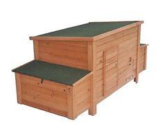 Large Wooden Chicken Coop Backyard Hen House 5-8 Chickens w 4 nesting box