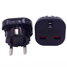 Neue Reise Adapter Stecker Stromadapter DE-UK Schuko Deutschland auf Englan Y5C9