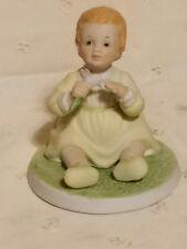 "1984 Roman Abbie's Children Collection Ceramic Figurine ""Blossom"""