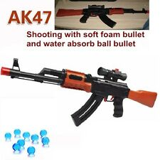AK47 Toy Gun Rifle Soft Bullet Paintball Water Pistol Kids Weapon Airgun Safe