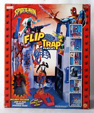 RARE 2004 SPIDERMAN FLIP N TRAP PLAYSET + JUMP N STICK MAGNETIC TOY BIZ NEW !
