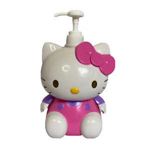 Hello Kitty Arm Action Pump Dispenser Bottle 230ml 2011 2006 Sanrio Kawaii Cat