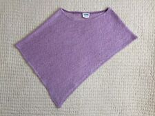 Brand New~A.Byer~Junior~Knit Poncho~Lilac~Pale Violet~Made in USA~Gorgeous Knit
