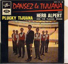 "HERB ALPERT & TIJUANA BRASS ""PLUCKY-TIJUANA"" 60'S EP COLUMBIA 1776"
