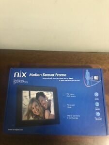 Nix 8 Inch Hu-Motion Digital Photo Frame X08D New Open Box