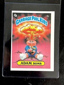 ADAM BOMB (8a) 1985 1st Original Series 1 GPK TOPPS  VINTAGE RARE Matte SHARP!!
