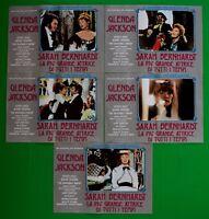 H43 Lote Fotobusta Sarah Bernhardt Grande Actriz Glenda JACKSON El Incredible