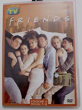 DVD Film Friends Le grandi serie Tv Sorrisi e Canzoni Stagione 4 Episodi 7-12