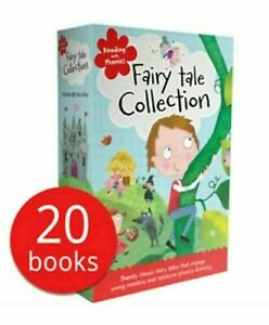 Reading With Phonics Key Sound Fairy Tale 20 Books Children Set By Clare Fennell