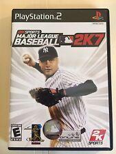 Major League Baseball 2K7 (Sony PlayStation 2, 2007)  HOME USED GAME
