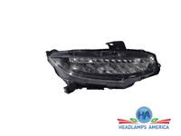 OEM Headlight - Honda Civic W/LED 16-18 Rh
