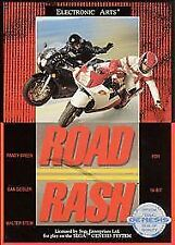BRAND NEW SEALED ROAD RASH (Sega Genesis, 1991) FREE US SHIPPING