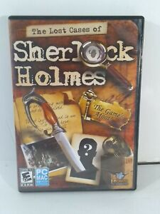 Lost Cases of Sherlock Holmes PC Mac Computer Game Mystery Adventure Murder