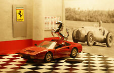 Ferrari 1/18 328 GTS Rosso/red/rojo By Brass calidad como Kyosho/Elite