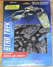 Star Trek Klingon Bird-Of-Prey Metal Earth 3D Model Kit Fascinations MMS282