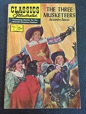 Classics Illustrated #1 Three Musketeers 1966 #1/167 Combine Shipping