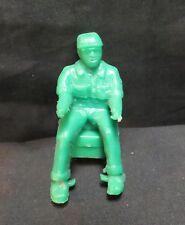 Vintage Marx/Nylint? Green Plastic Farmer Tractor Driver w/Seat