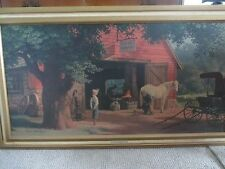 American Masterpiece by Aaron Bros. Paul Detlefsen Print - Horse and Buggy Days