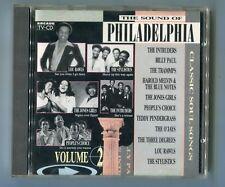 THE SOUND OF PHILADELPHIA Volume 2 CD Compilation © 1988 Arcade Soul 14-track