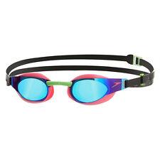 Nouveau speedo fastskin 3 elite mirror lunettes – rose/vert natation