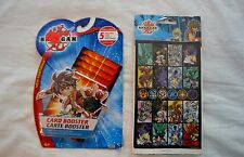 Bakugan Card Boosters and Stickers 5 Collectible Cards SEALED