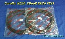 Toyota Corolla KE 20 2 DOOR TE21 Coupe weatherstrip Door Rubber seal  2 pcs L&R