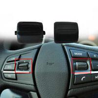 2x Voiture Commutateur de Volant Bouton Noir Interrupteur pour BMW F02 F07 F10
