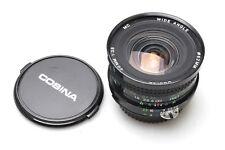Cosina 20mm f3.8 mc F. Nikon AIS