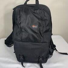 Lowepro Backpack Tarvel Multi Compartment School Work Camera Bag Black Shoulder