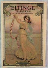 Playbill Magazine / 1925 ERNEST TREUX The Fall Guy Eltinge Theatre New York City