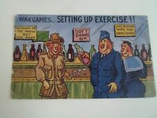 Austrian Military Humour WAR GAMES ... SETTING UP EXERCISE !!  Vintage PC §A2366