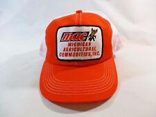 Vtg. K-Products MAC Mich. Agricultural Comm. Mesh Snapback Cap Hat