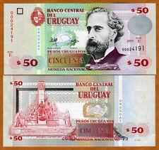 Uruguay, 50 Pesos Uruguayos, 2011, P-87b, Serie E, UNC