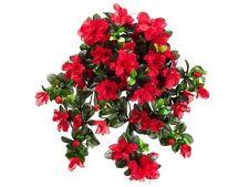 "29"" Water-Resistant Azalea Hanging Bush x10  (Pack of 3) Artificial Flower Silk"