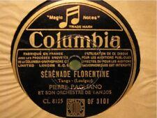 PIERRE PAGLIANO serenade indochinoise/florentine 78T+++