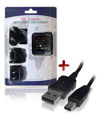 CASIO EXILIM EX-FC200s / EX-TR100 USB BATTERY CHARGER AD-C53U DIGITAL CAMERA