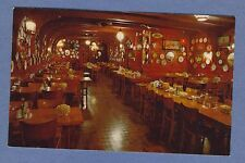 Vintage PC Inside View Louis Wachsmuth Oyster Bar Restaurant Ankeny Portland OR