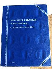 Benjamin Franklin Half Dollar Whitman Coin Folder