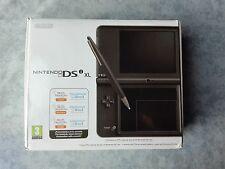 CONSOLE NINTENDO DS NDS DSi XL MARRONE SCURO COMPLETO BOXATO BOXED PAL ITALIANO