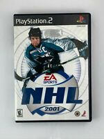 NHL 2001 - Playstation 2 PS2 Game - Tested