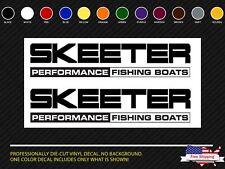 Skeeter Performance Fishing Boats Decal  Set Stickers Bass Rapala Windshield