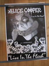 ALICE COOPER Live in the Flesh poster 23.5x33