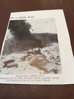 m12d ephemera 1940s ww2 picture u s marines luzon island