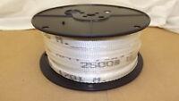 "3/4"" x 500'  2500# tensile polyester pull tape, mule tape, webbing"