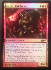 Chef de Clan Gobelin VO PREMIUM / FOIL - English Goblin Chieftain  - Mtg magic