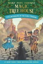 Magic Tree House: Earthquake in the Early Morning No. 24 by Mary Pope Osborne