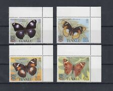 TIMBRE STAMP 4 ILE TUVALU Y&T#143-46 PAPILLON BUTTERFLY NEUF**/MNH-MINT 1981~B91