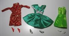 Clone Barbie Doll Lucky Rabbit-Green Evening Gown Mini Dress Jacket clothes lot