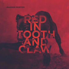 """Madder Mortem : Red in Tooth and Claw VINYL 12"""" Album (2016) ***NEW***"""