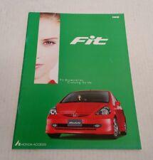 2001 Honda Fit Access Accessories Catalog Brochure 1g Jazz Modulo Japan HTF